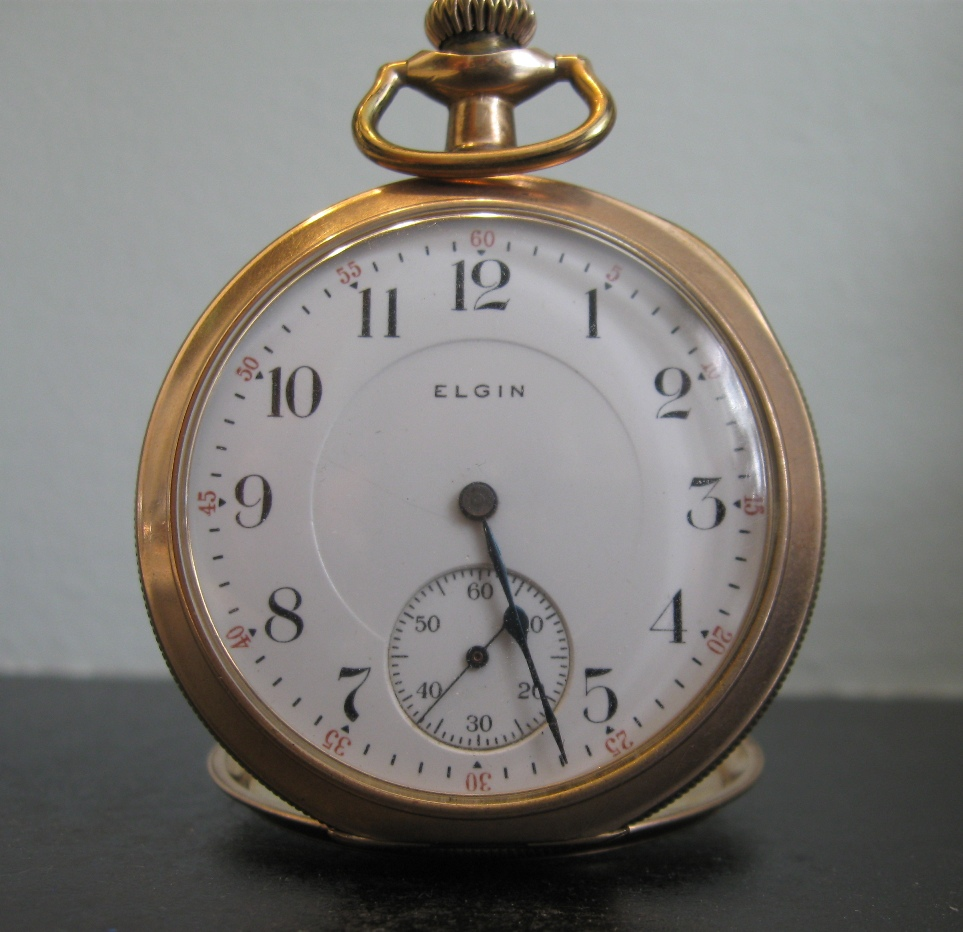 Elgin Pocket Watch - FrizeMedia - Digital marketing Advertising PR Consulting