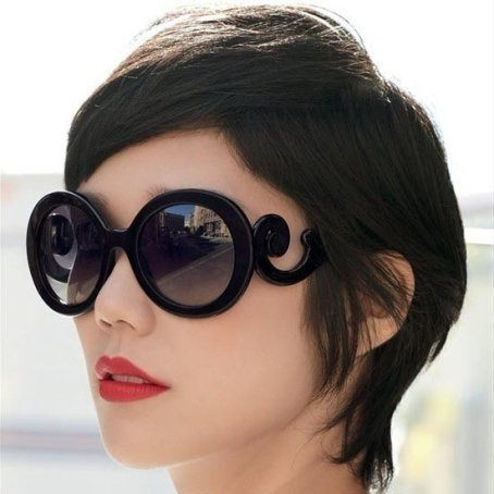 Sunglasses with 100% UV tinting cut down on glare from reflected sunlight.
