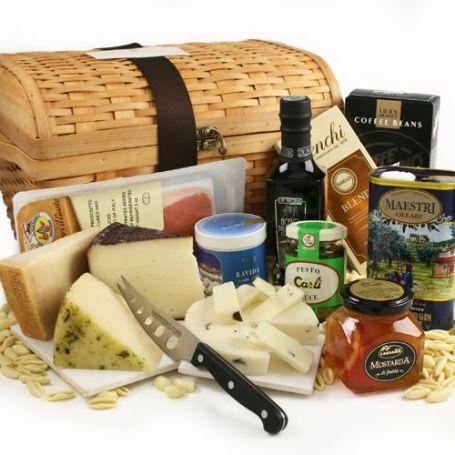 Food Gift Basket - Gourmet Food Gift Basket #FrizeMedia