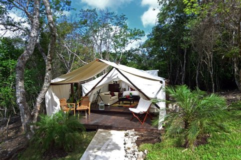 Camping Glamping In Mexico