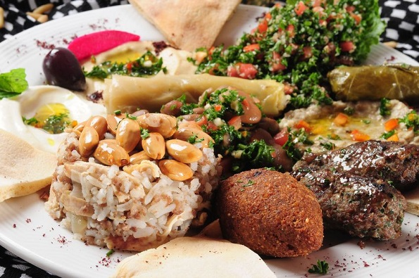 Middle Eastern Cuisine - #Food That Celebrates Life #FrizeMedia