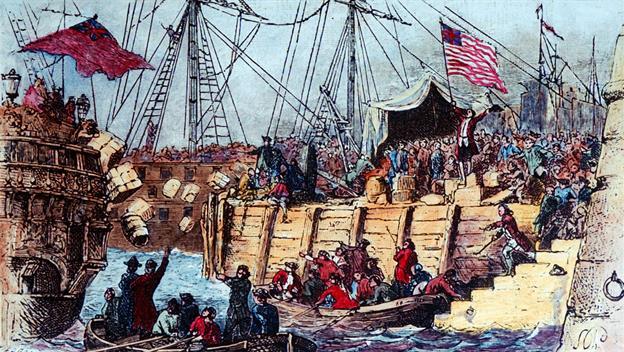 #AmericanHistory - The Boston Tea Party #leadership #FrizeMedia