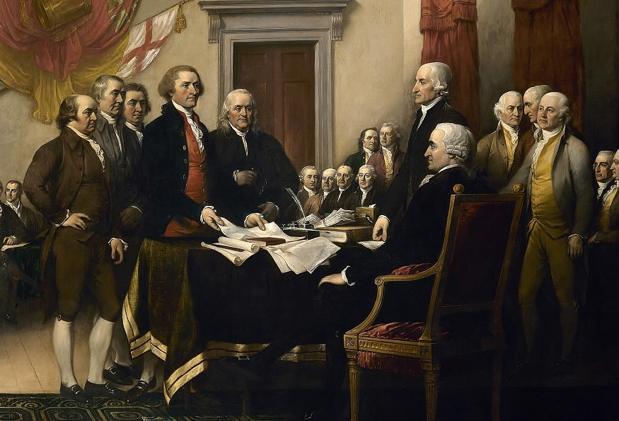 #AmericanHistory - The Declaration of Independence #usa #FrizeMedia
