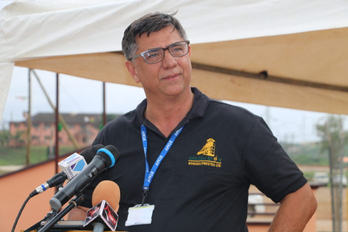Sam Coetzer, President and Chief Executive Officer of Golden Star