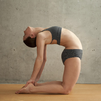 Bikram Yoga Camel Pose - FrizeMedia