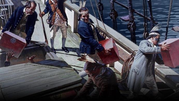 #AmericanHistory - The Boston Tea Party #leadership #usa #FrizeMedia