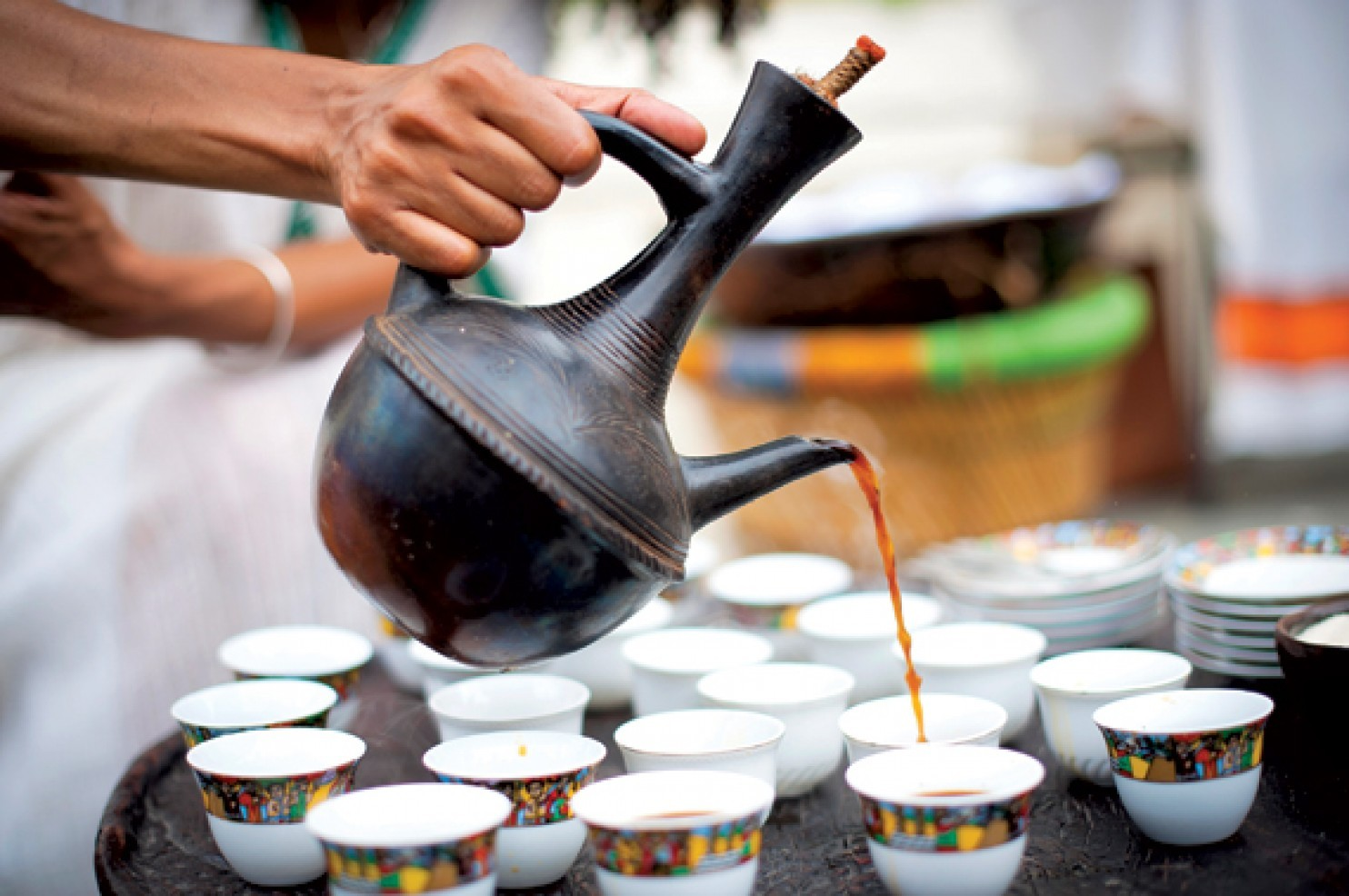 History Of Coffee - Ethiopian Coffee Ceremony - FrizeMedia - Charles Friedo Frize - Digital Marketing And Advertising