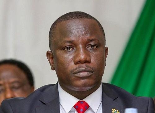Ghana Minister for Defence, Mr. Dominic Nitiwul