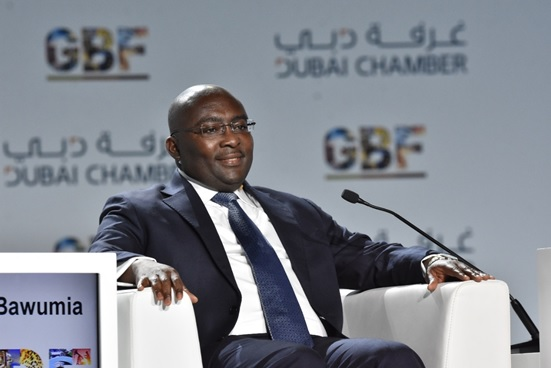 Ghana's Vice President Mahamudu Bawumia
