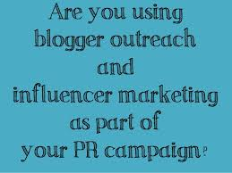 Influencer Marketing - Blogger Outreach