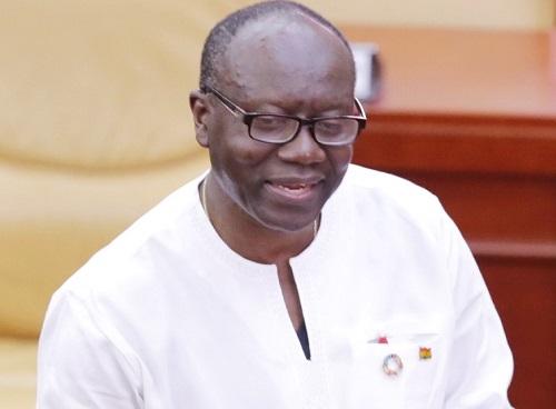 Ghana Minister for Finance, Ken Ofori-Atta