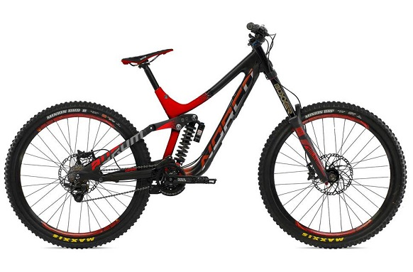 The cross country bike is completely different in many ways from other types of mountain riding bikes.