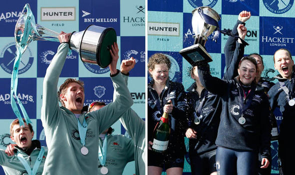 In 2016 Cambridge won the men's Boat Race while Oxford won the women's event
