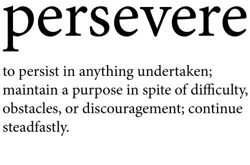 #Perseverance - How To Develop Perseverance #FrizeMedia