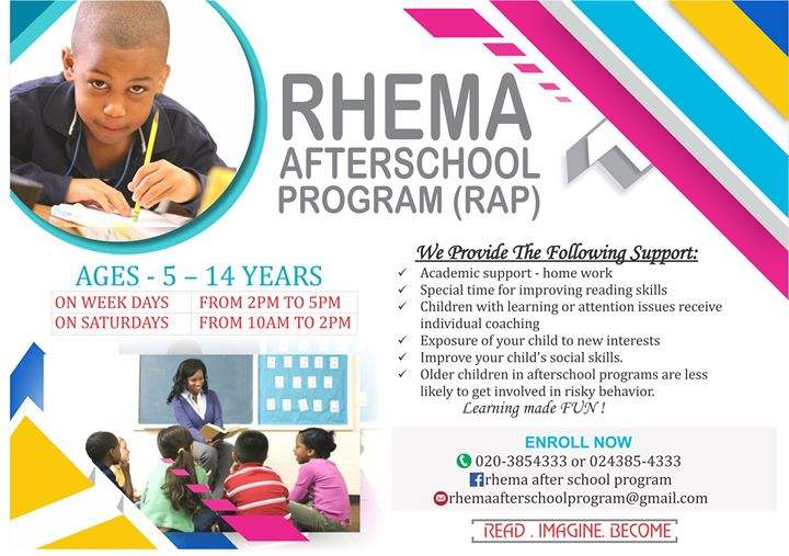 Rhema After School Program Adjiringanor Accra