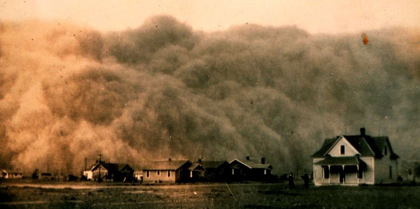 Stock Market The dust Bowl - Wall Street October 1929 #Finance #Money #FrizeMedia