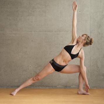 Bikram Yoga Triangle Pose - FrizeMedia