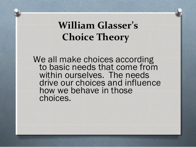Choice Theory - An Explanation Of All Human Behavior #FrizeMedia