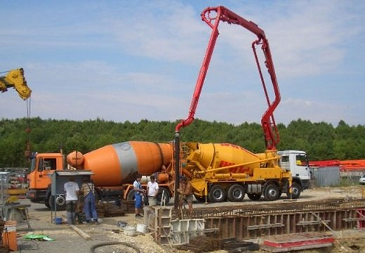 Hydraulic Machinery - Concrete Pump machines