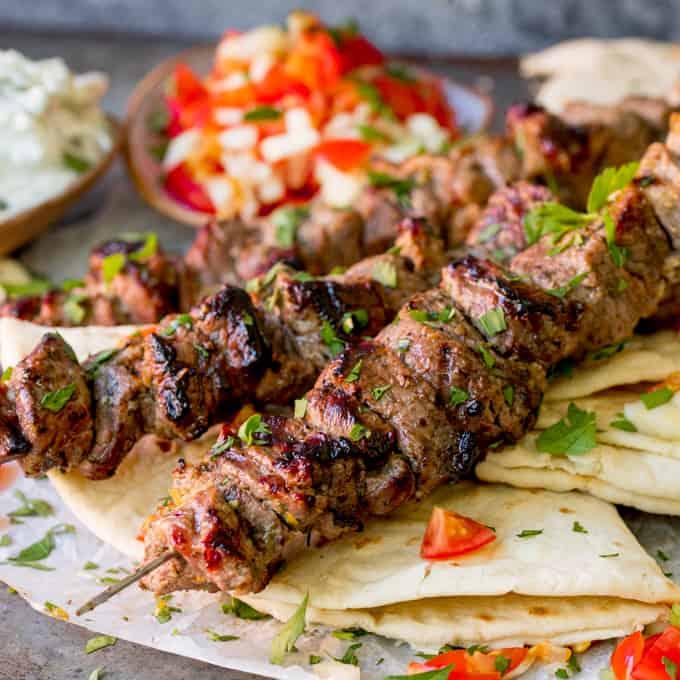 #Souvlaki - Delicious Greek Fast #Food #Greekfood #FrizeMedia