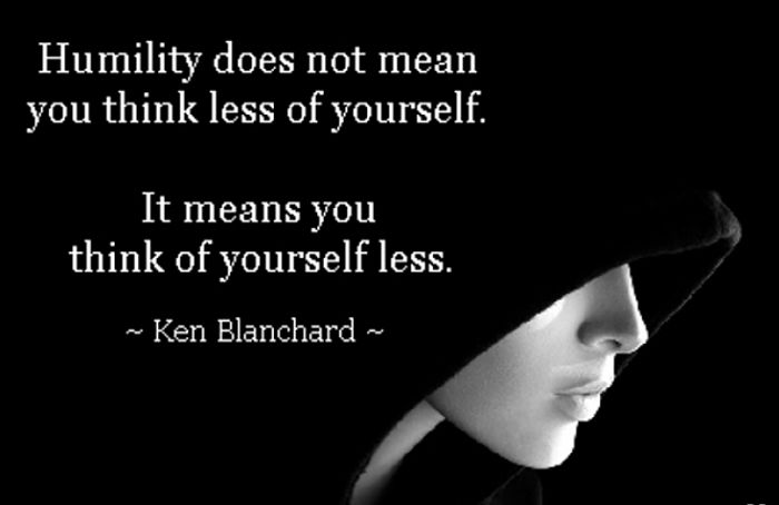 Humility Does Not Mean You Think Less Of Yourself, It Meams You Think Less Of Yourself - FrizeMedia