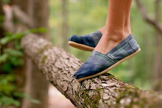 Toms Shoes - One For One Ethical Shoes #FrizeMedia